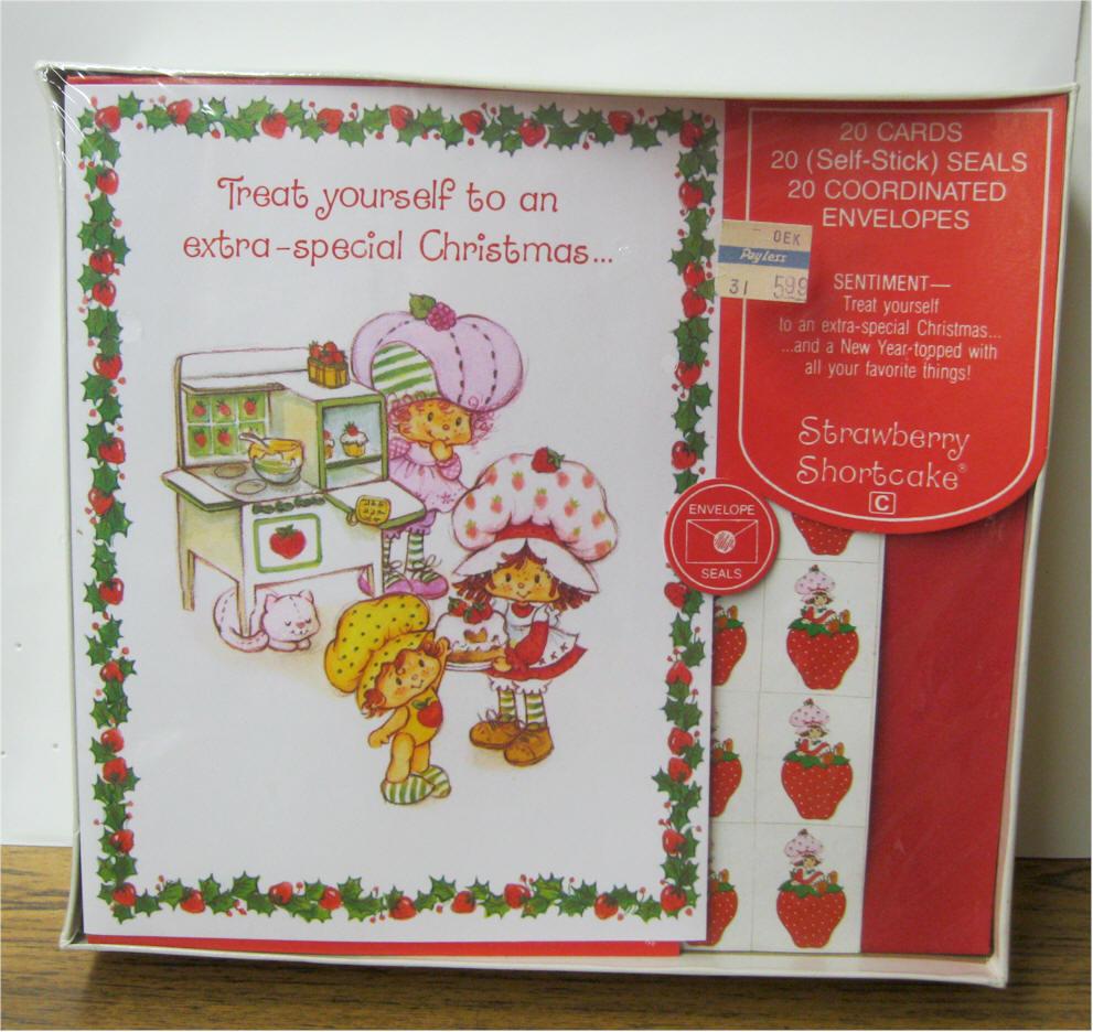 Strawberry Shortcake Miniatures