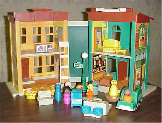 Sesame Street Playset Figures