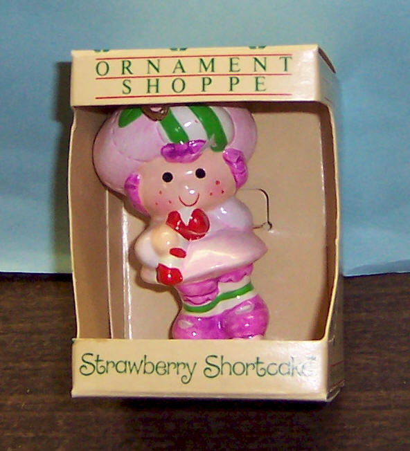 American Greeting Christmas Ornaments Part - 16: Vintage 1982 Raspberry Tart American Greeting Christmas Ornament. Excellent  Condition. Item #SS02 Price $8