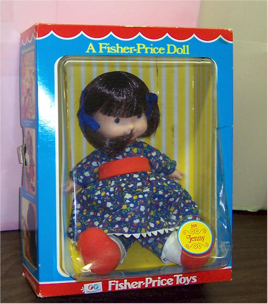 Fisher-Price Doll with Cloth Body